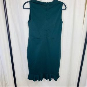 Missoni Dresses - M Missoni Emerald Green Peplum Cutout Dress!
